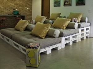ideas de muebles con palets 5 - Opciones de muebles con palets