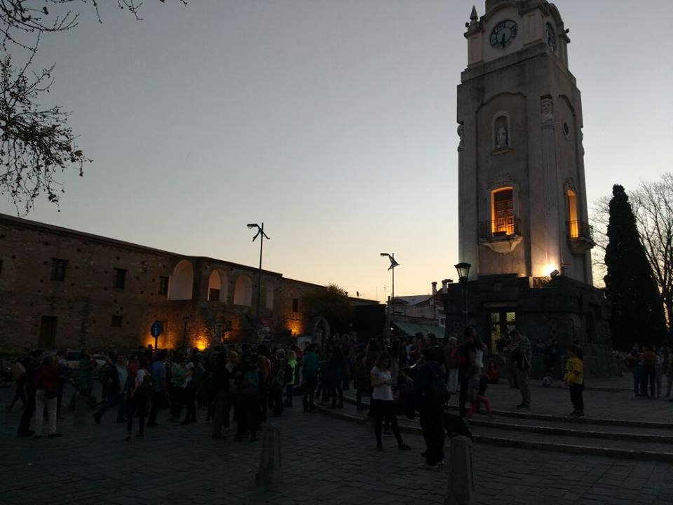 concentracion manifestacion santiago maldonado - #SANTIAGOMALDONADO: Miles de altagracienses marcharon por su aparición con vida