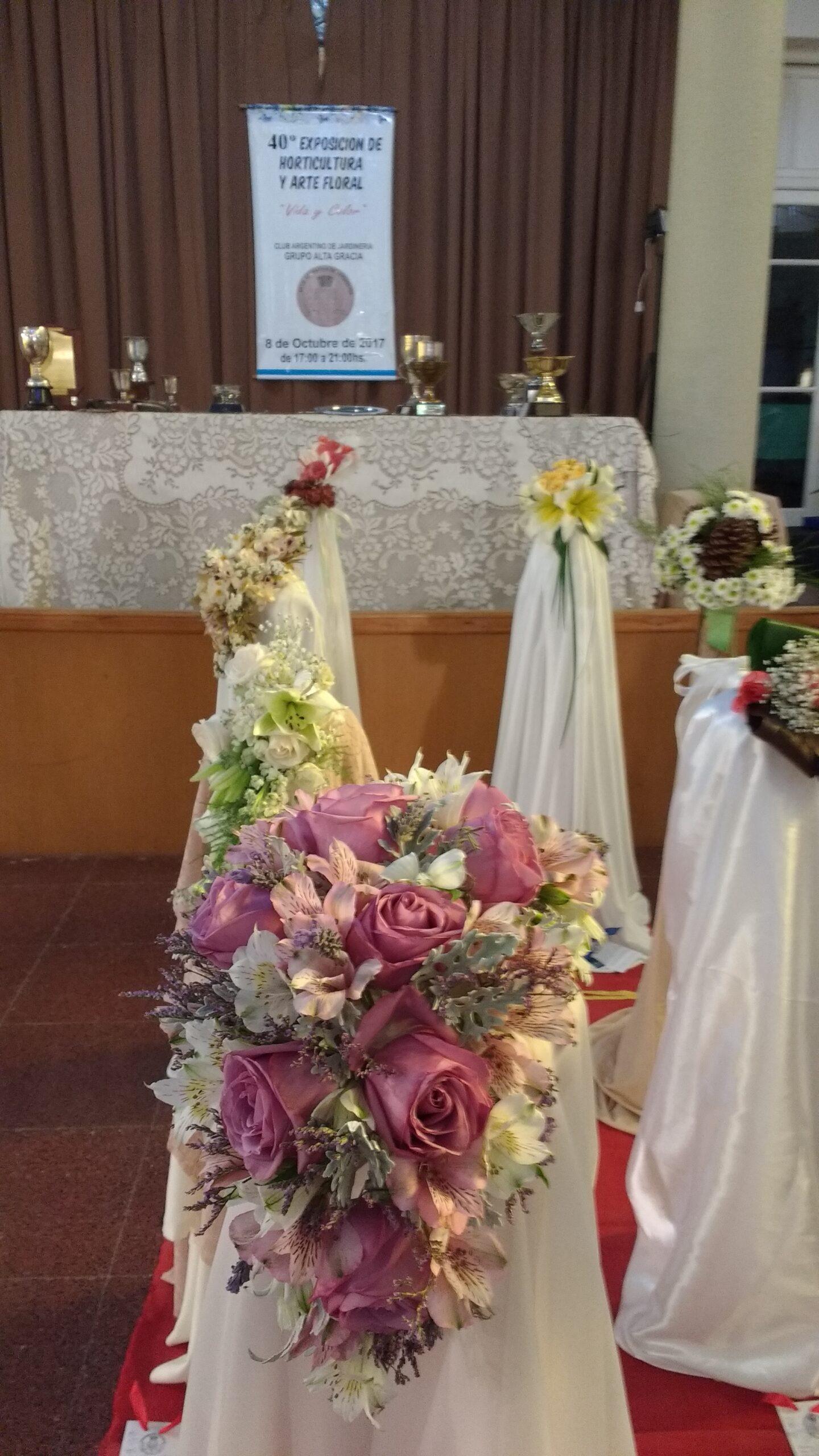 IMG 20171008 174937330 scaled - Se llevó a cabo la 40º Exposición floral en Alta Gracia