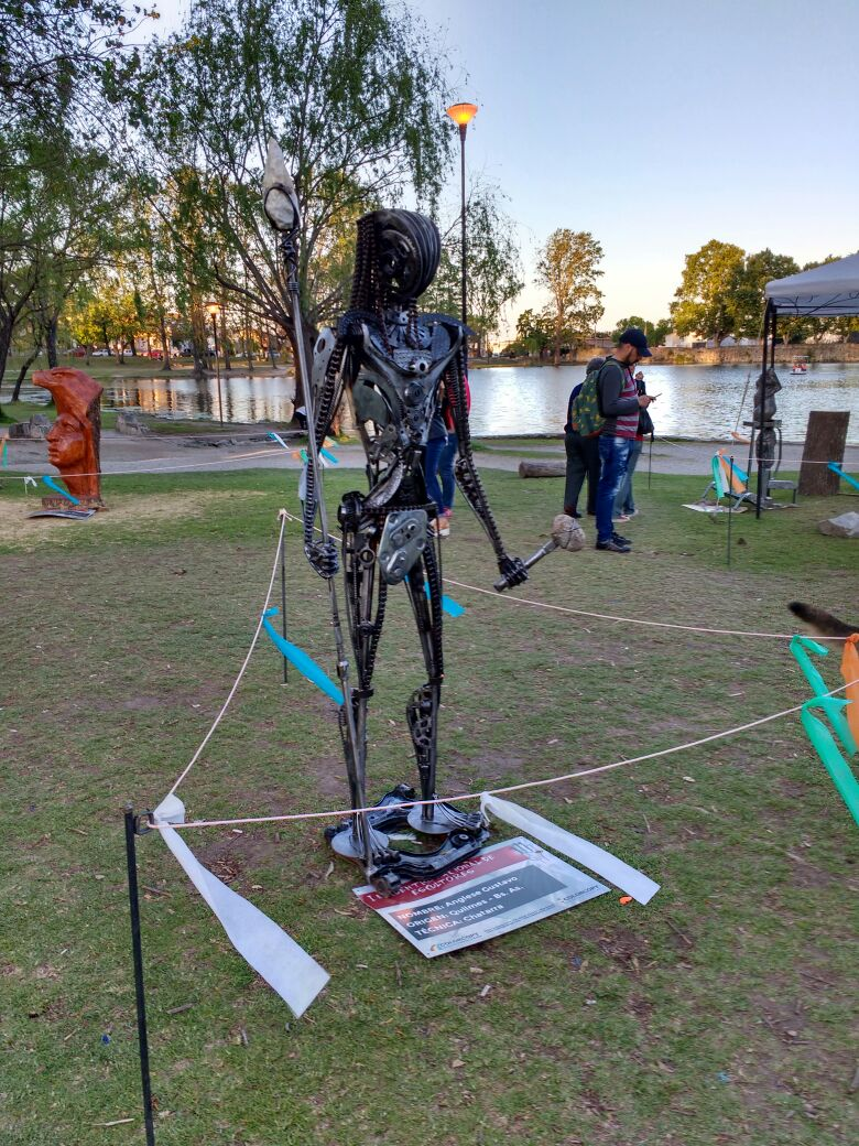 comechingon escultores - MostrArte: Realizan una convocatoria abierta a artistas escultores