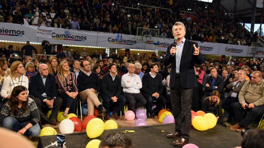 macri ER - Caso Santiago Maldonado: se suspendieron todos los actos de cierre de campaña