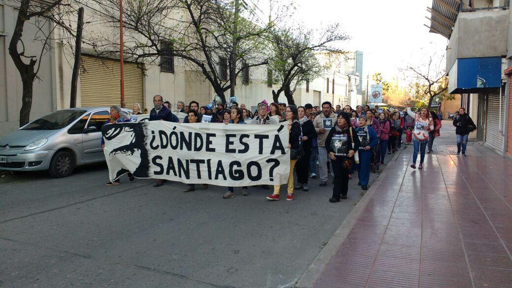 marcha santiago 1 - Nueva marcha pidiendo justicia por Santiago Maldonado
