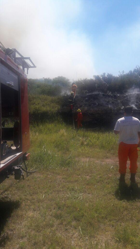 IMG 20171125 WA0008 - Se quemó un campo en Monte Ralo