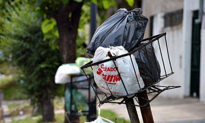 bolsa basura - Cronograma de recolección de residuos durante el fin de semana largo