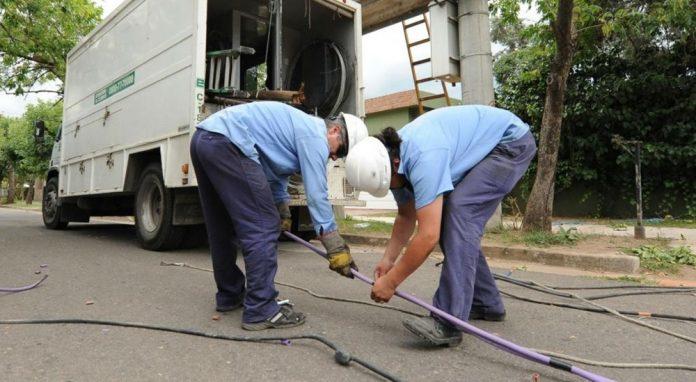 trabajadores epec - EPEC anunció cortes de energía para el jueves
