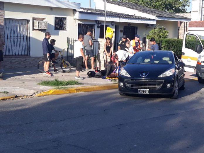 accidente illia y mansilla - Dos accidentes ocurrieron en la tarde del viernes