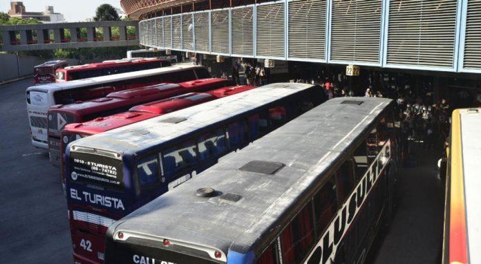 transporte interurbano terminal cordoba LV - Aoita, en estado de alerta por falta de paritarias