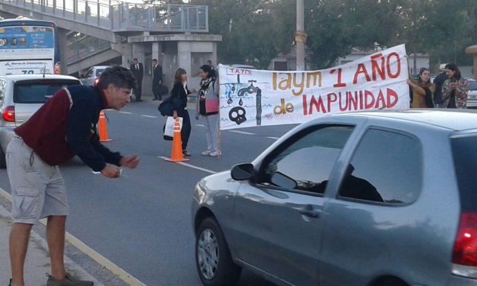taym a un año de impunidad - A un año del desborde de Taym, vecinos de Santa Ana realizarán reclamos
