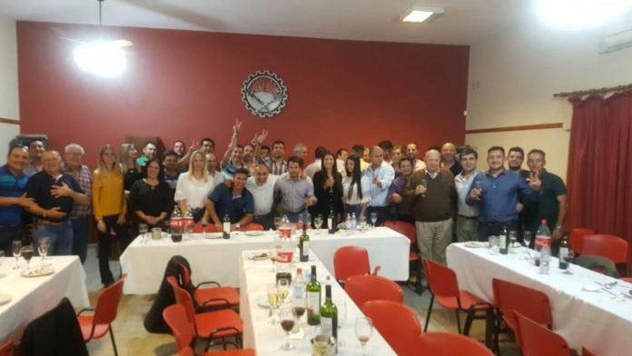 sindicatos funcionarios - Facundo Torres y funcionarios municipales se reunieron con los sindicatos