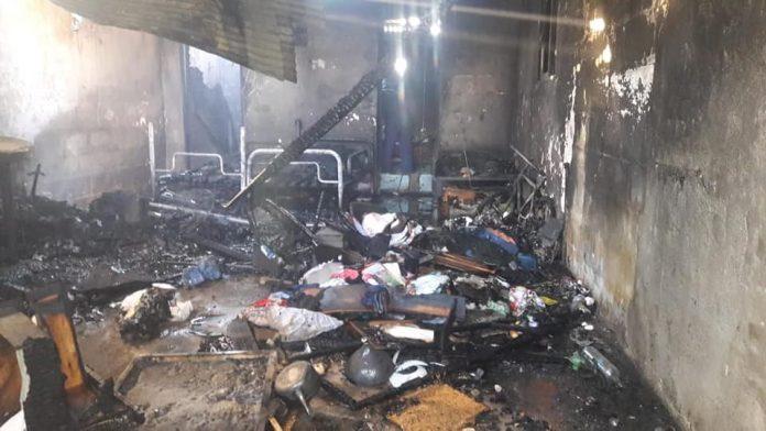 incendio sabattini dentro - Campaña solidaria para la familia que perdió todo en incendio