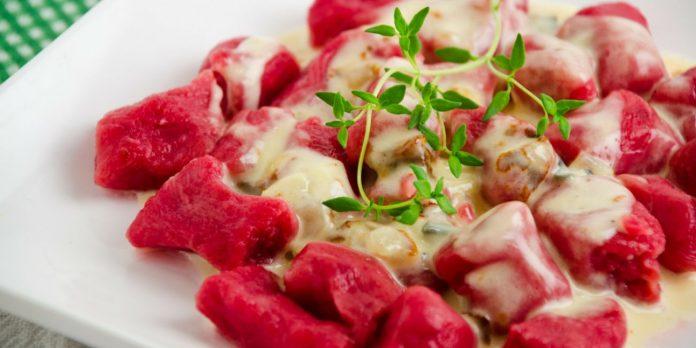 ñoquis de remolacha gourmet - La receta del finde: Ñoquis de remolacha