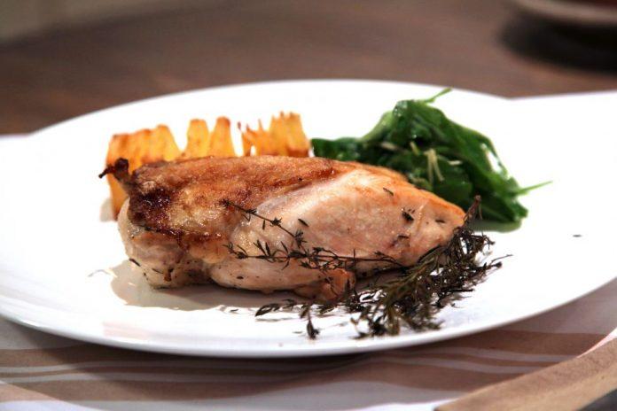 receta pollo - La receta del Finde: Pollo al horno con papas