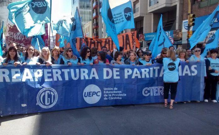 """uepc paro - Docentes de Uepc rechazaron la oferta salarial por ser """"insuficiente"""""""