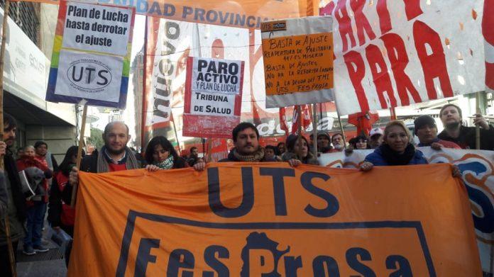 movilizacion salud - Trabajadores de la salud paran y marchan en Córdoba