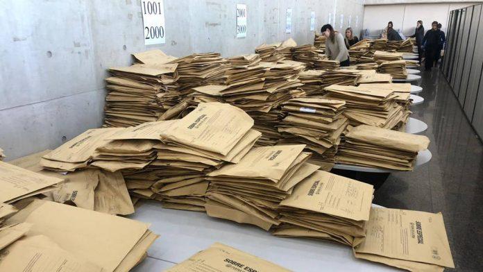 escrutinio elecciones urnas - Una por una, las listas presidenciales para las PASO