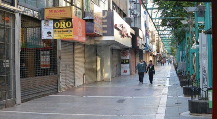 feriado peatonal vacia LVI - Prevén más restricciones en Córdoba, no confinamiento total