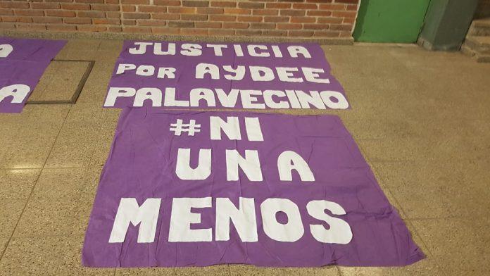 aydee palavecino justicia banderas - El 28 de agosto comenzará el juicio por el femicidio de Aydee Palavecino
