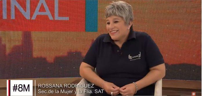 rossana rodriguez cba24n E - Rossana Rodríguez, Secretaria de la Mujer y la Familia de SAT destacada por los SRT