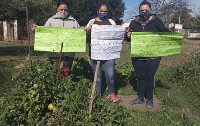 foto facebool mujeres - Villa San Isidro: Se movilizan en el día de la Lucha Campesina