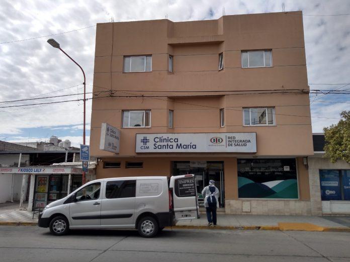 """clinica santa maria 1 - El paciente """"Delta"""" no es de Alta Gracia"""