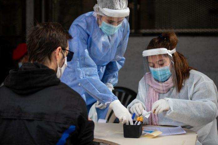 covid 19 mascaras controles - Siguen aumentando los casos de Covid-19 en el departamento Santa María