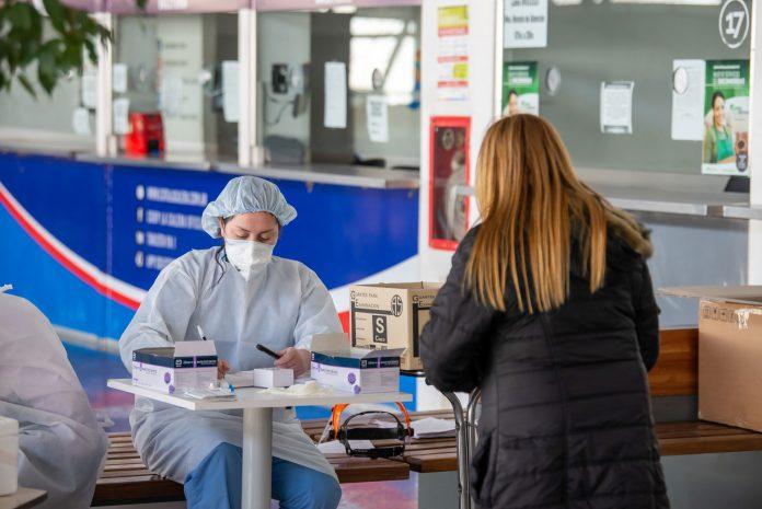 Centro Testeos gno cba - Más de 1000 casos de covid en el informe diario en Córdoba