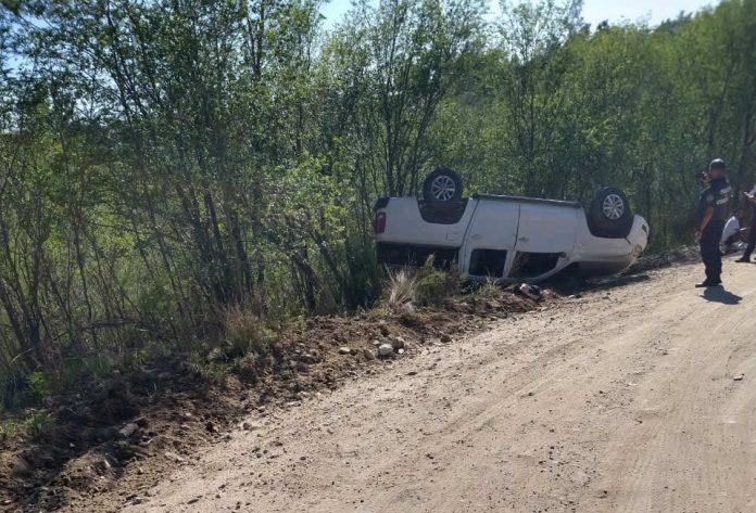 WhatsApp Image 2020 12 26 at 11.00.58 - Volcó una camioneta y el conductor sufrió politraumatismos