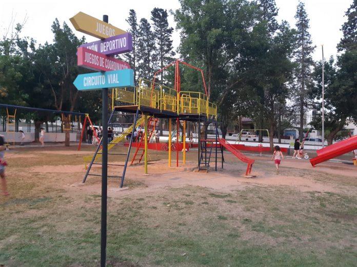 parque infantil 2 - Se espera una máxima de 32º