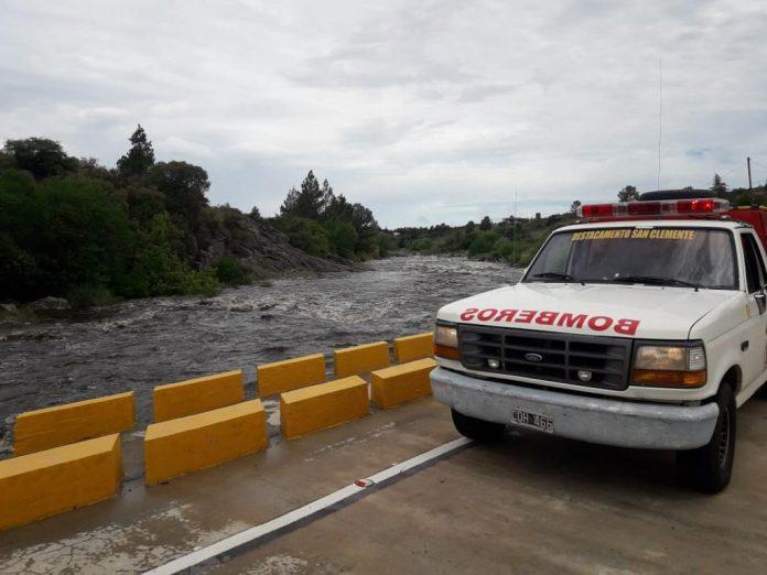 rio san jose crecido san clemente - Alerta por las crecidas de los ríos de la zona
