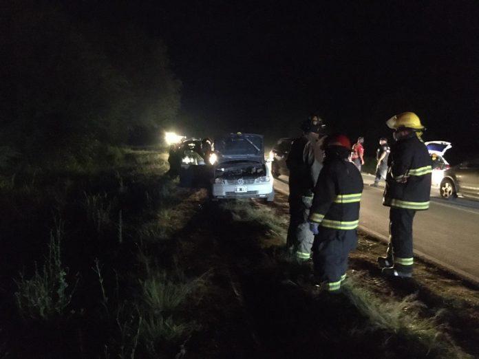 accidente ruta c45 MV - Choque en cadena sobre Ruta C-45
