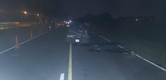 accidente fatal FDC P11 - Investigan la participación de un tercero en un accidente fatal