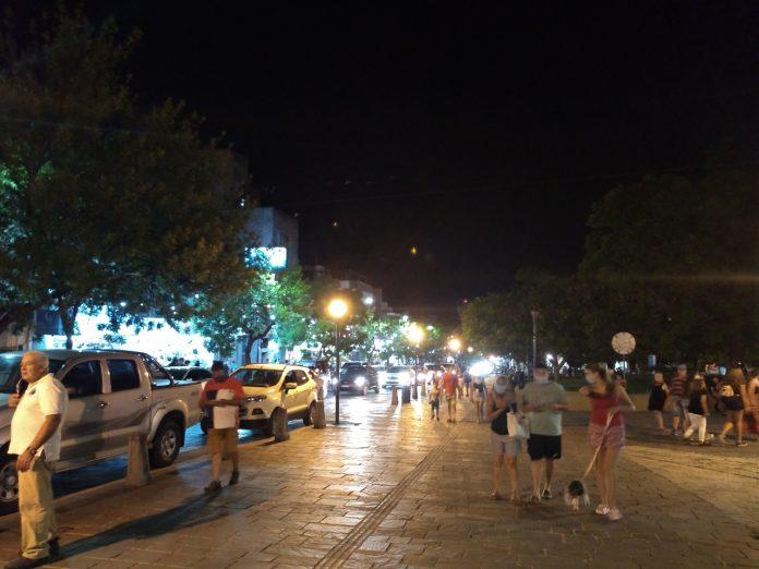 calle belgrano turismo febrero 2021 - Alta Gracia registró un 85% de ocupación el fin de semana largo