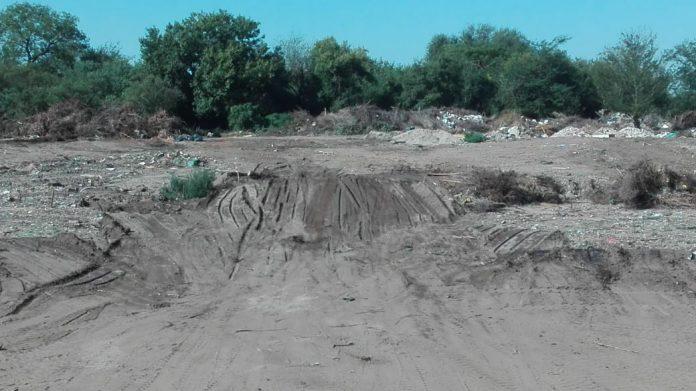 remediacion de lagunas sanitarias - ALTA GRACIA MÁS VERDE: Continúa la remediación del predio de ramas y podas en las Lagunas Sanitarias