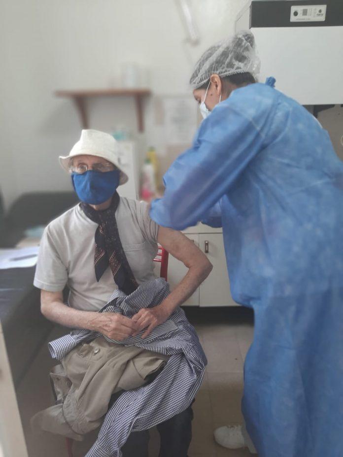 vacunacion mayores 70 LB - Comenzó la vacunación a mayores de 70 en Alta Gracia, Despeñaderos y La Bolsa