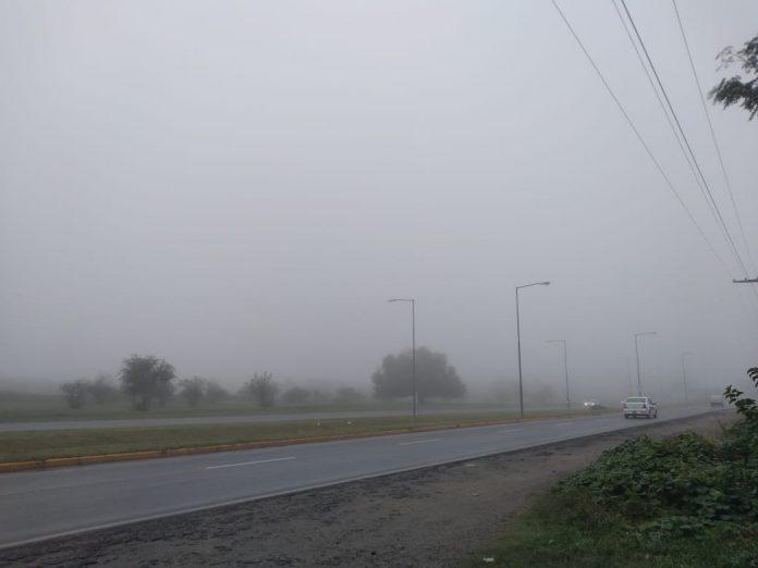 NIEBLA CLIMA RUTA - #ClimaAltaGracia: neblinas persistentes