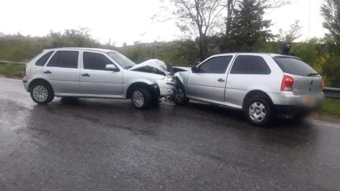 WhatsApp Image 2021 03 02 at 08.36.08 - Potrero de Garay: fuerte impacto entre vehículos