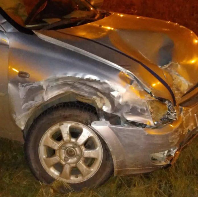 WhatsApp Image 2021 03 29 at 07.31.58 - Tres personas con diferentes lesiones tras accidentarse en Ruta 5 y la rotonda Alta Gracia