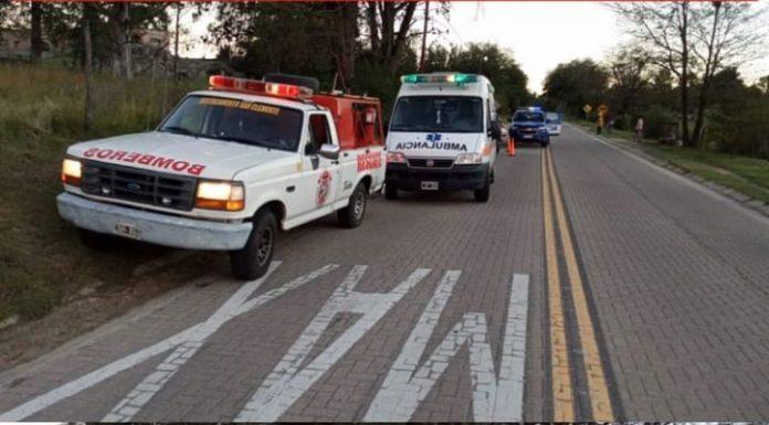 accidente san clemente fatal - Falleció un motociclista tras accidente sobre Ruta S-271