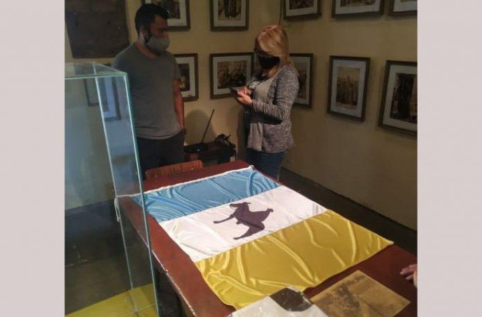 bandera brocheriana EE - Bandera Brocheriana creada por altagraciense quedará en exposición en Museo Casa Natal de Brochero