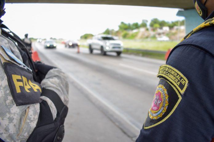 caminera ilustrativa - Caminera incautó marihuana en un control vehicular