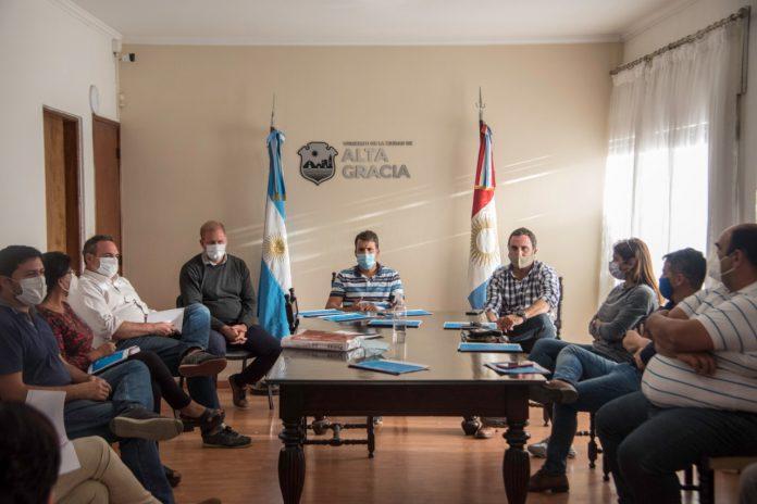 mesa sanitaria - El Intendente presidió la Mesa de Seguimiento Sanitario