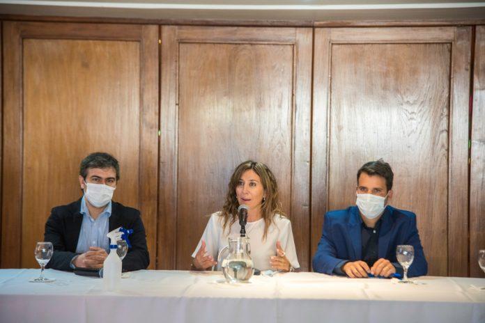 ministra jure marcos torres - Se presentó el Programa de Inserción Laboral en Alta Gracia
