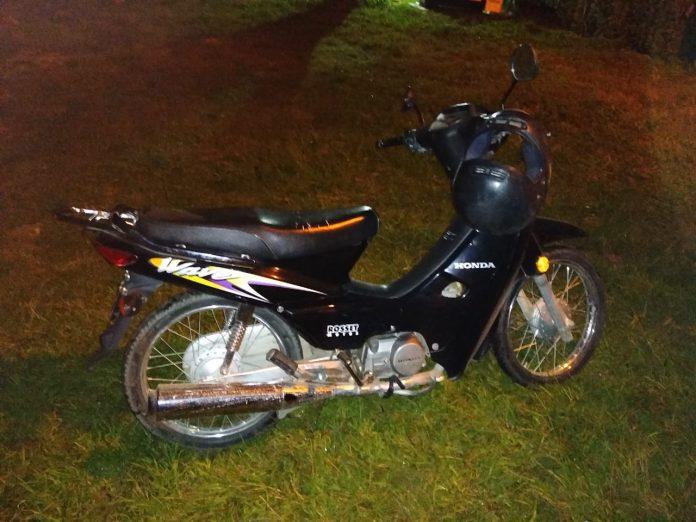 moto recuperada - Recuperaron moto robada que no había sido denunciada