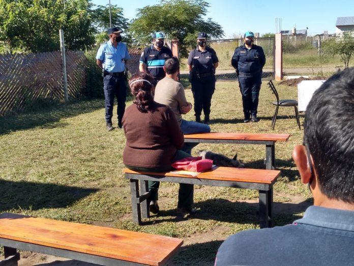 policia villa del prado - Inseguridad en Villa del Prado: reunión entre vecinos y autoridades policiales