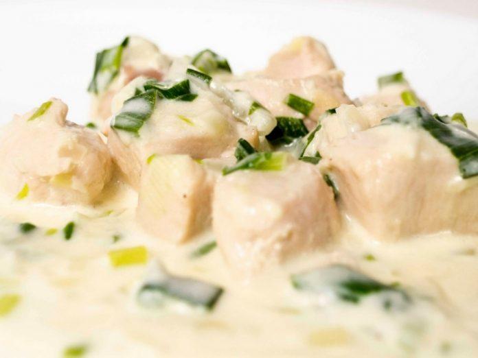 pollo a la crema paulina - La receta del Finde: Pollo a la crema en 5 minutos