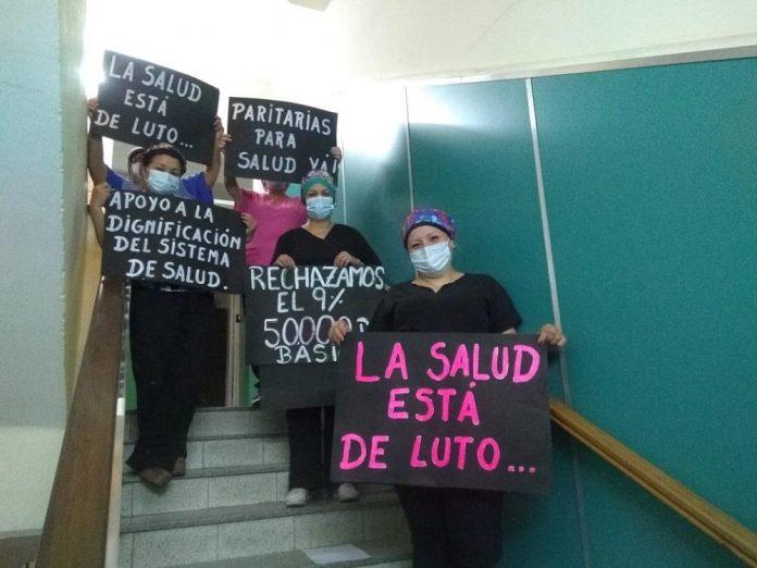 """trabajadores salud LNM - Trabajadores de la Salud en alerta por los salarios: """"No descartamos un paro"""""""