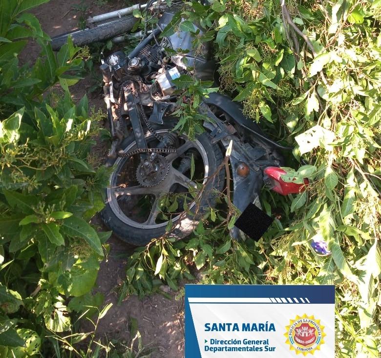 WhatsApp Image 2021 04 17 at 20.12.11 - Encontraron una moto robada en barrio Nuevo Amanecer