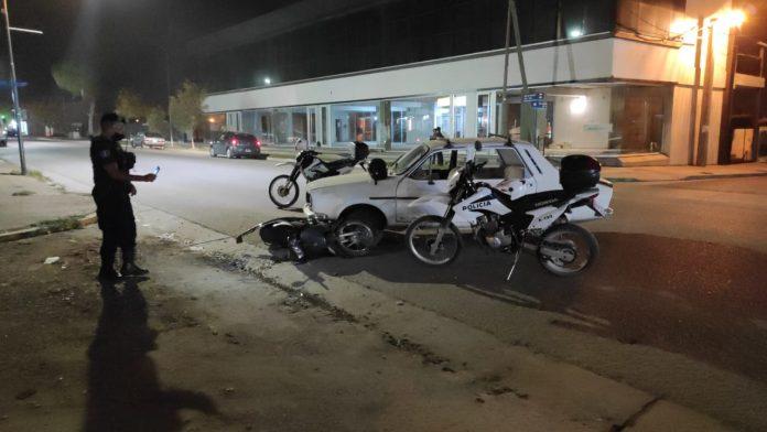 accidente lorusso - Una mujer herida tras chocar su moto contra un Renault 12