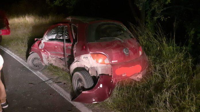 accidente malagueno - Se detuvo a arreglar un desperfecto mecánico, lo chocaron y huyeron