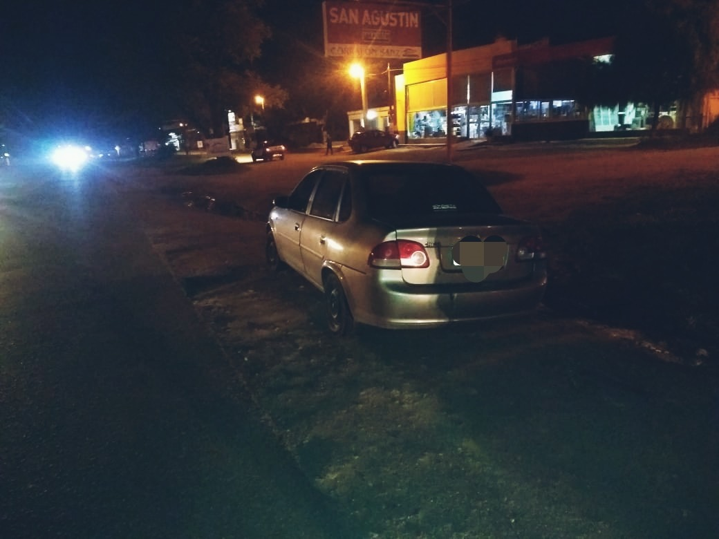 accidente ruta 5 delfin - Un joven herido tras colisión en Ruta 5